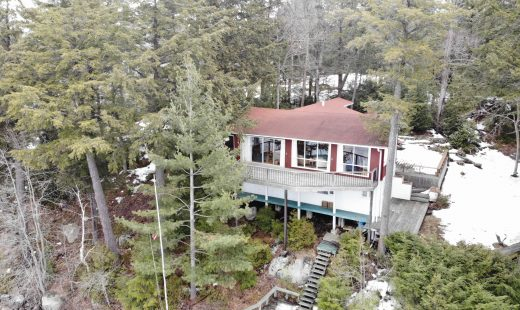Acton Island, Lake Muskoka Main Cottage