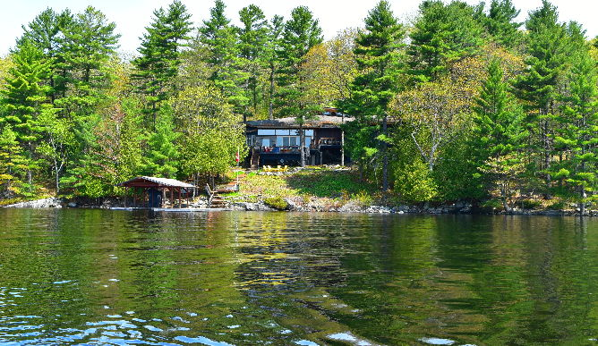 Lake Muskoka cottage